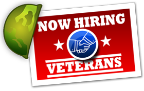 Now Hiring Veterans